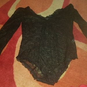 Tops - Lace bodysuit